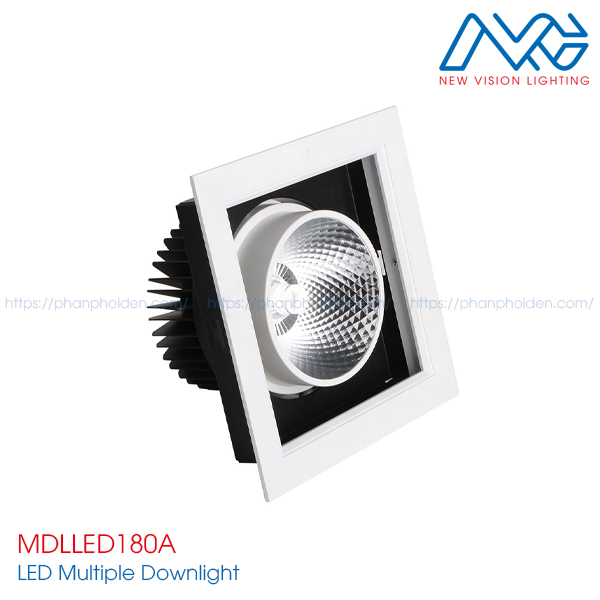 Đèn LED multiple downlight MDLLED180A
