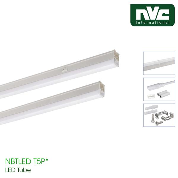 Bộ Đèn Tuýp LED T5/T6 Nhựa NBTLED T5P T6P